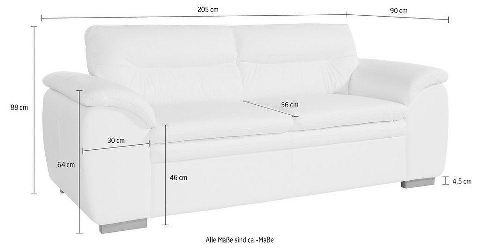 Cotta 2 5 Sitzer In 3 Bezugsqualitaten Online Kaufen 3 Sitzer Sofa Sofas Und Wohnzimmer Sofa
