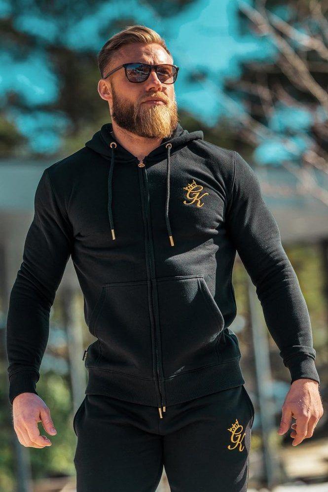 Buy Gym King Core Hoodie BlackGold at