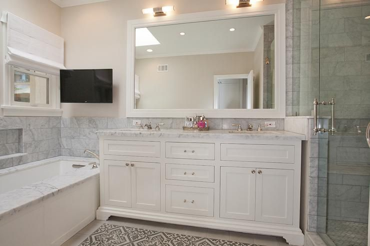 classic white bathroom ideas. Classic White Bathroom With A Twist Designed By Cicely K. Nyman For C.K. Interior Ideas Pinterest