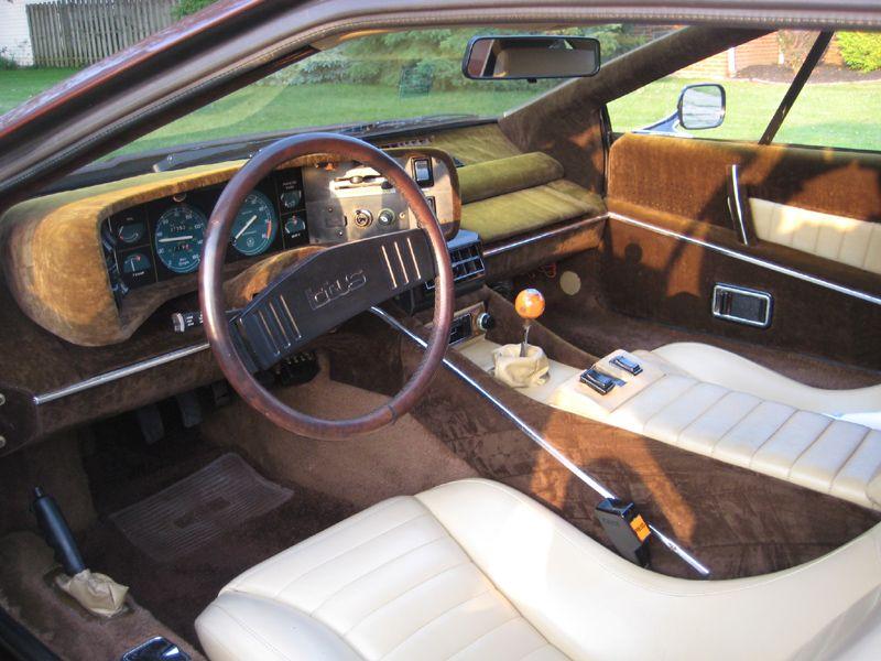 Lotus Elite Interior