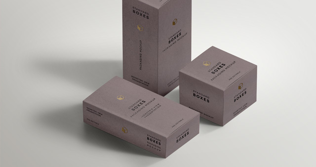 Download 001 Box Boxes Packaging Presentation Isometric Mockup Standard Psd Jpg Box Mockup Packaging Mockup Mockup Template Free
