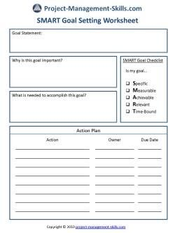 SMART Goal Setting Worksheet | planners | Pinterest | Goal setting ...