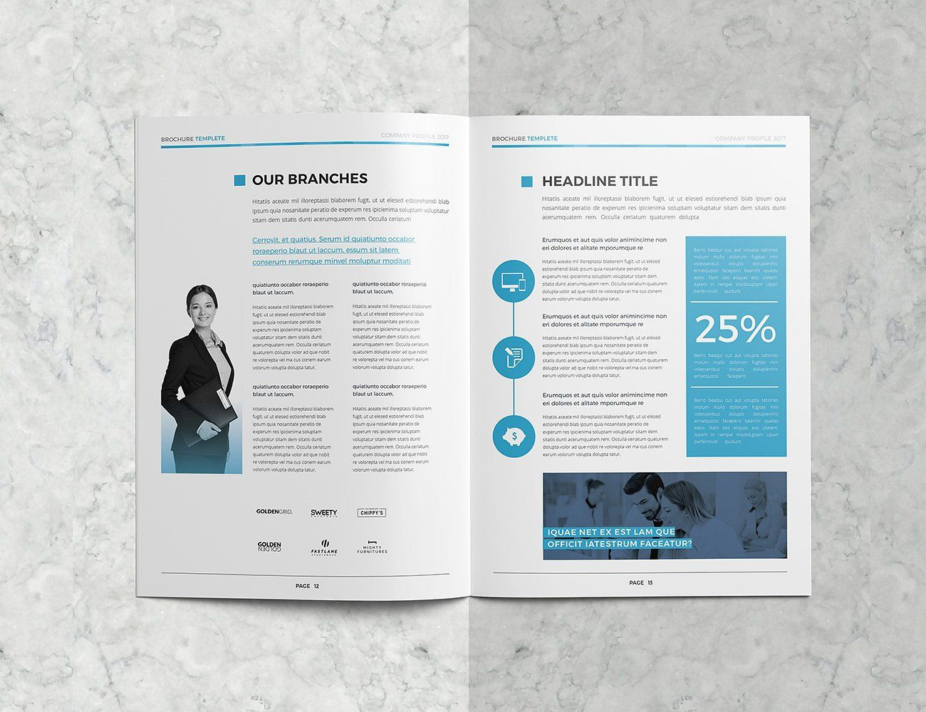 Clean Company Profile Company Profile Cleaning Companies College Brochure