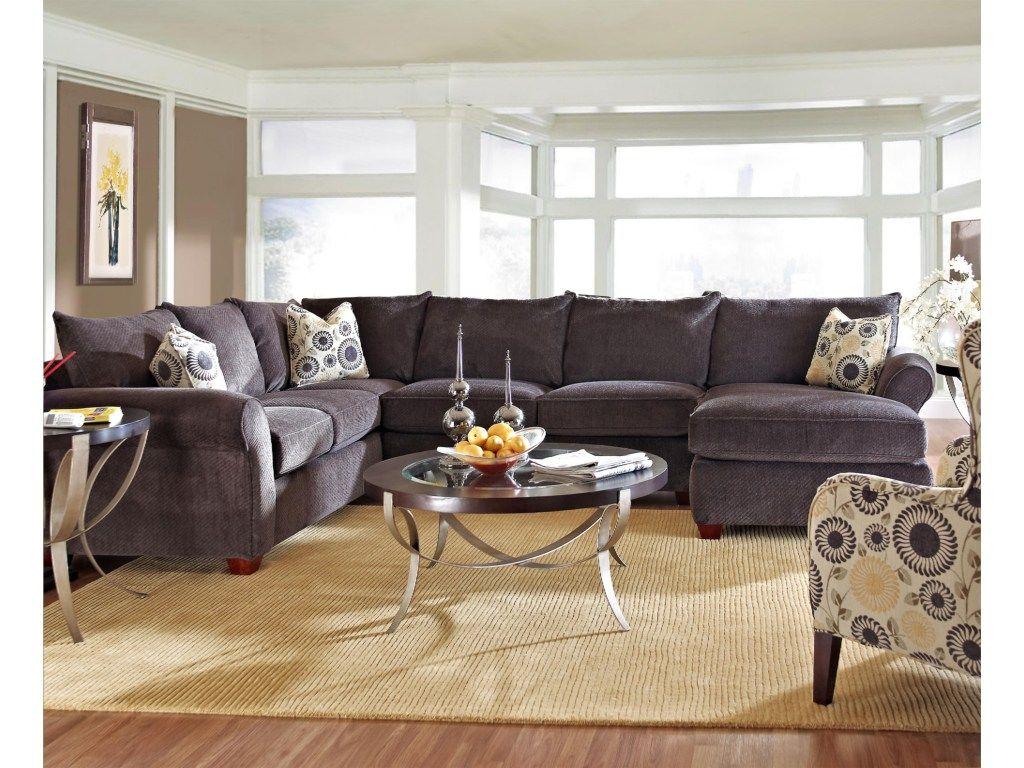 Metropia Clark Transitional Sectional Sofa   Ruby Gordon Furniture U0026  Mattresses   Sectional Sofas