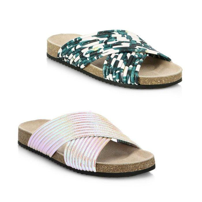 Loeffler Randall Leather Petra Sandals discount for nice shop offer for sale nicekicks online qF9pLk1v