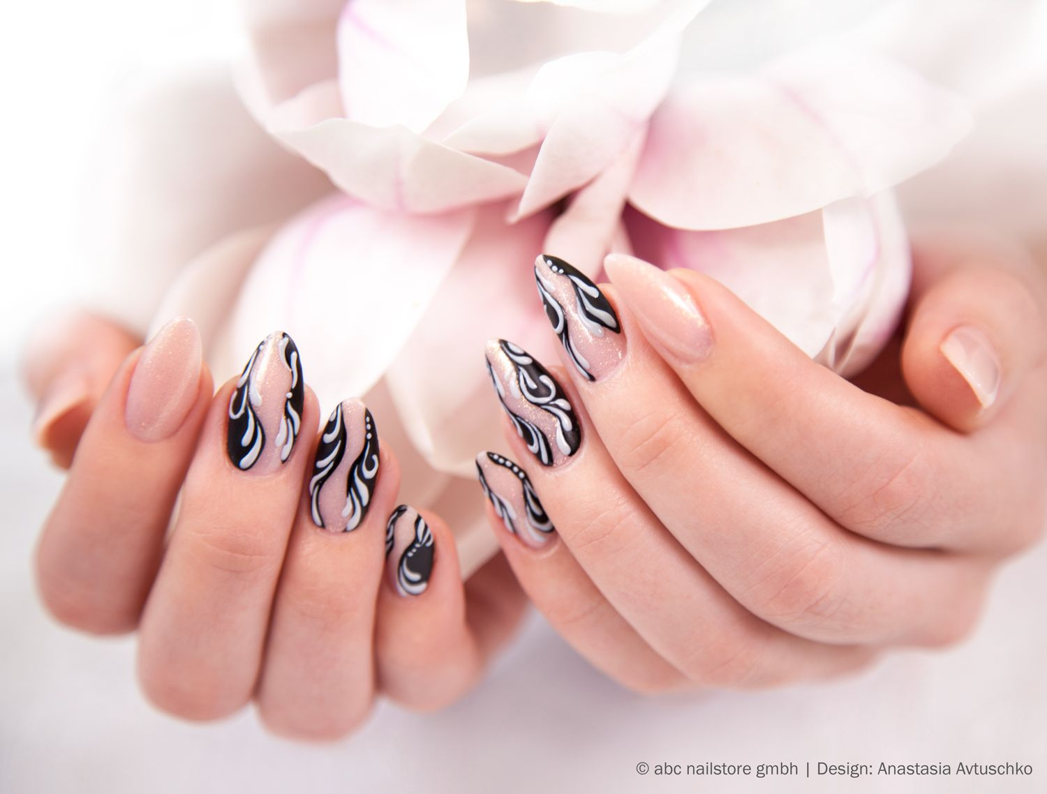 Softeis Magnolie Abc Nailstore Artistgele Soft Nails Design