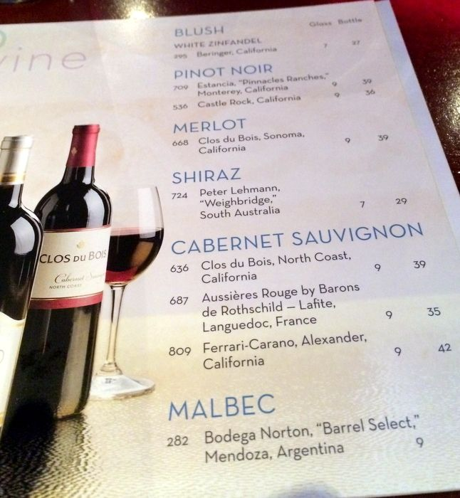 Wine Menu On Air Allure Of The Seas Cool Stuff Pinterest - Allure of the seas drink package