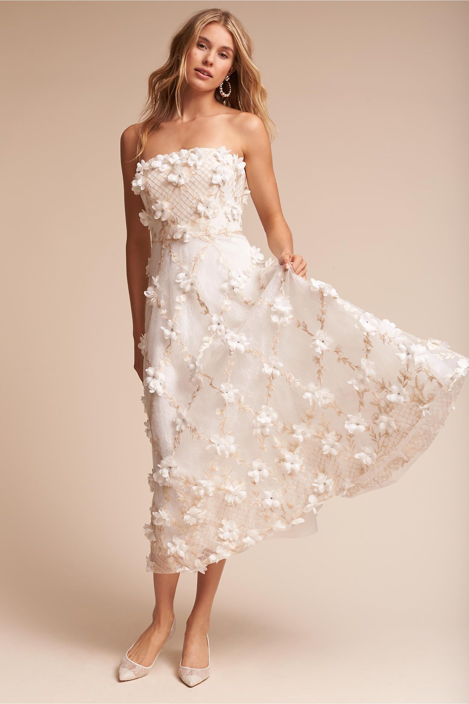 BHLDN\'s Marchesa Notte Duchess Gown in Ivory | Products | Pinterest ...