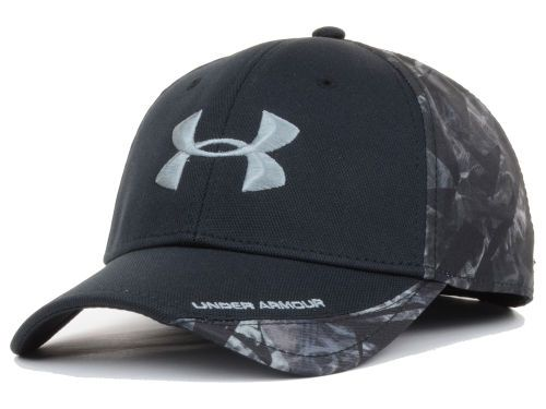 bdcbc1e2f65 Under Armour Smoke Camo PC Flex Cap Hats