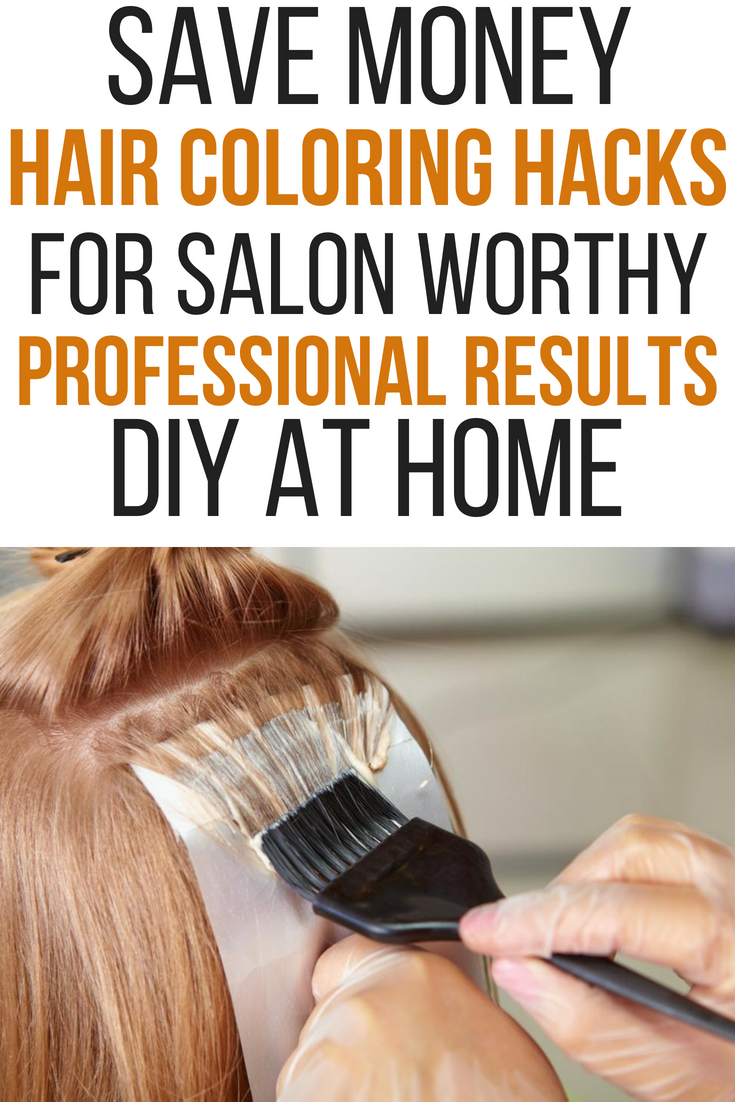 Save money at the salon by coloring your hair at home! You can still ...
