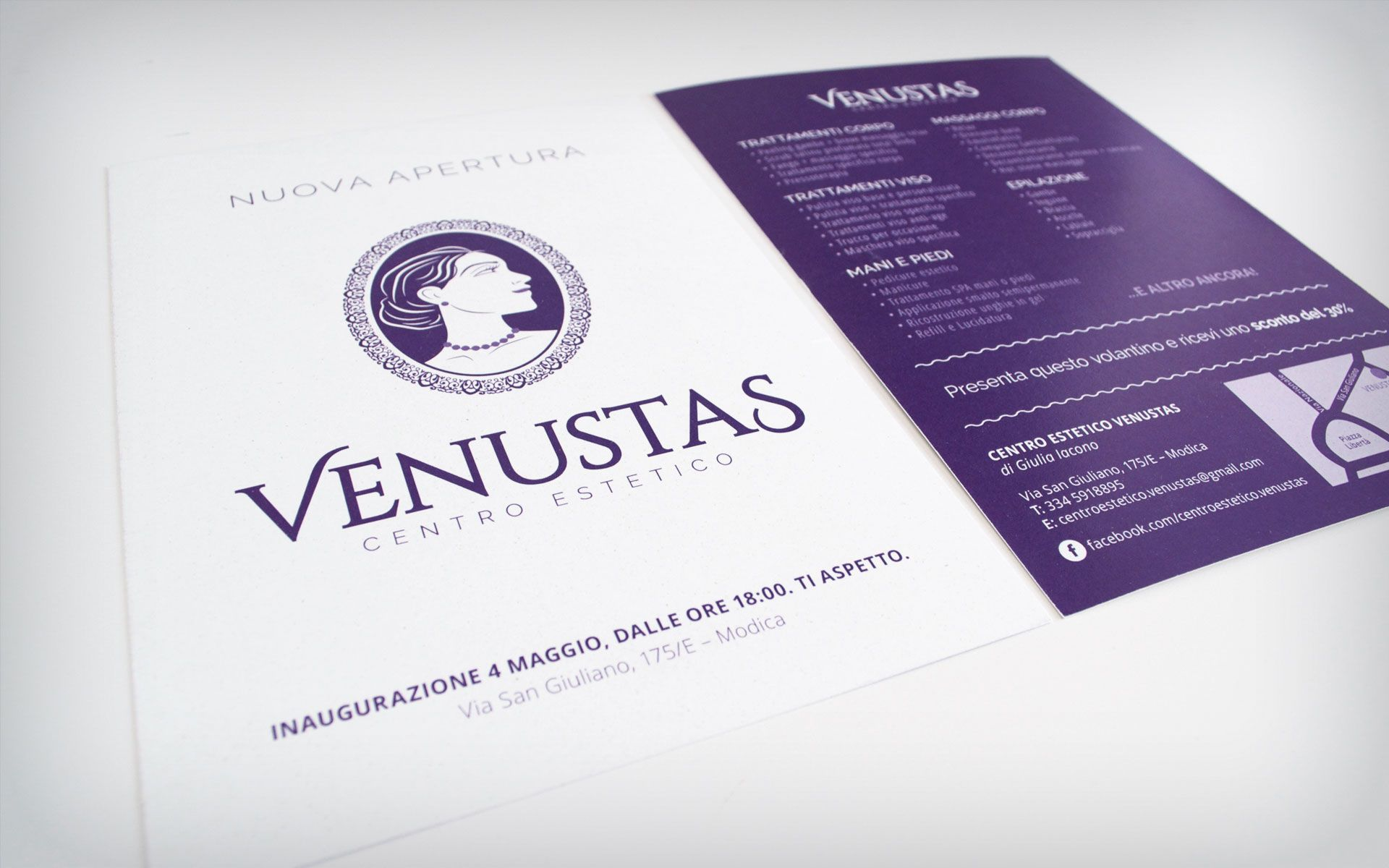 flyer a5 front back brand logo graphicdesign design beauty