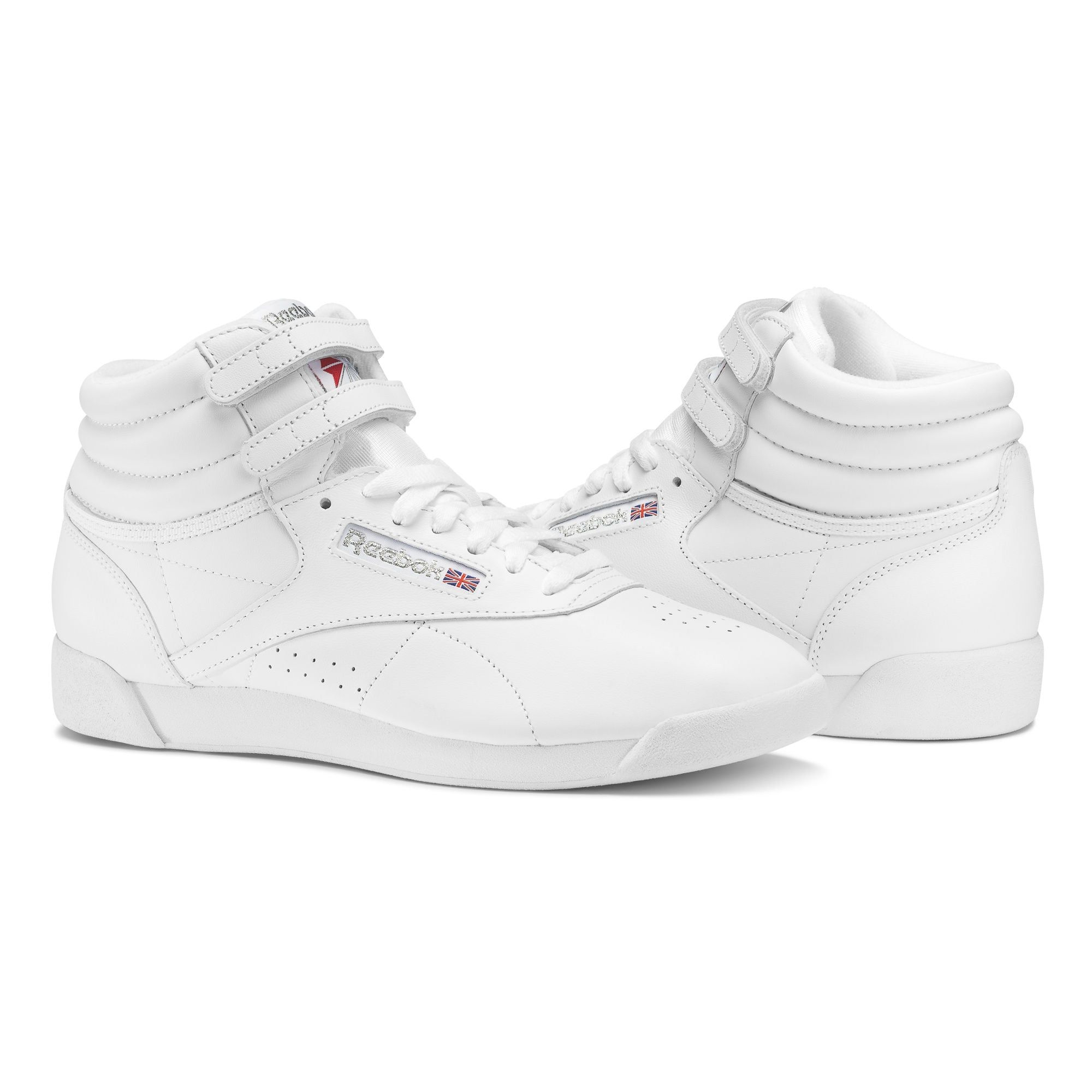 Reebok Classic Sneaker 'Freestyle Hi' Damen, Weiß, Größe 43