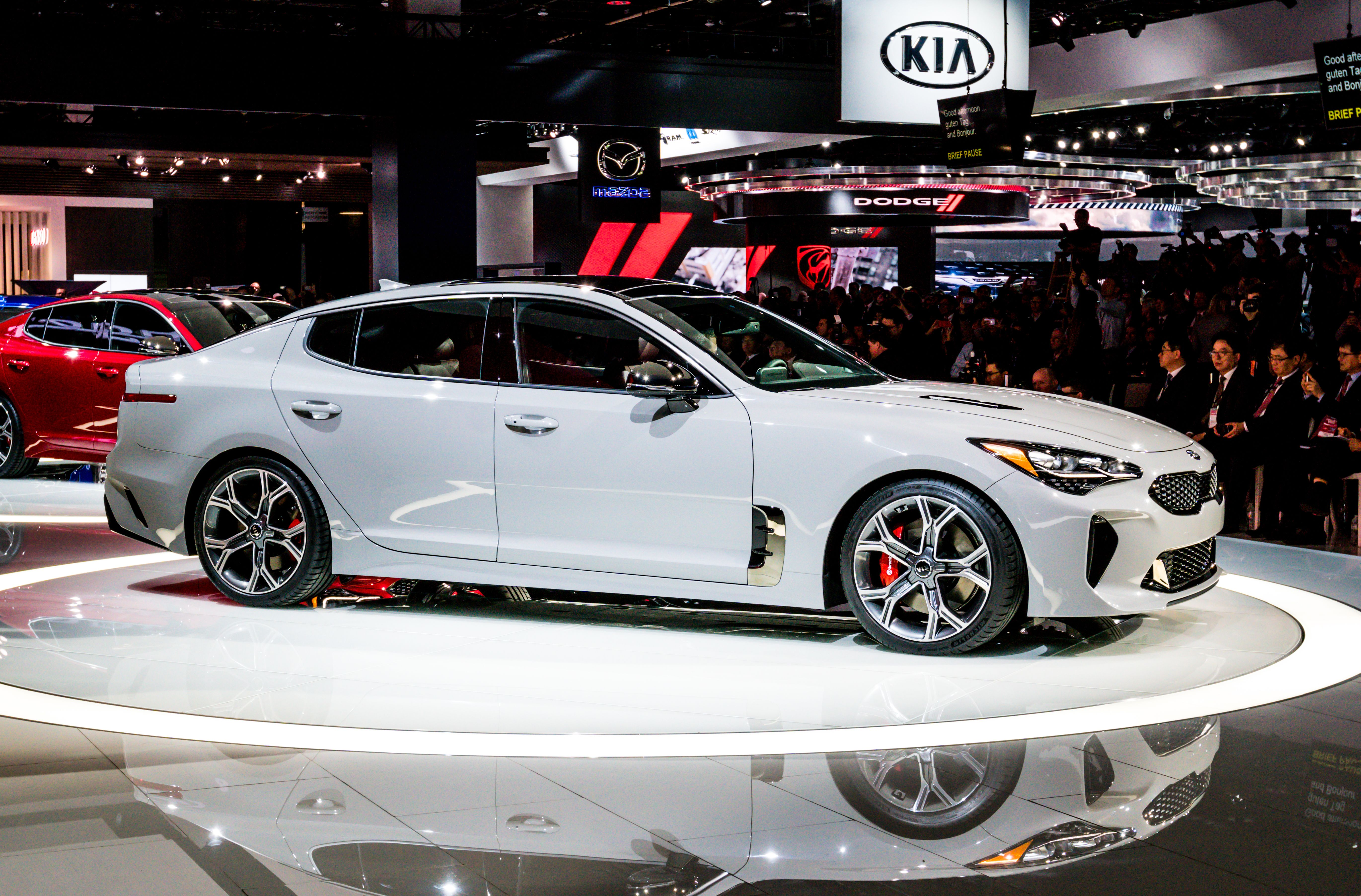 I M Worried No One Is Going To Buy The 2018 Kia Stinger Gt Kia Stinger Kia Cool Car Accessories
