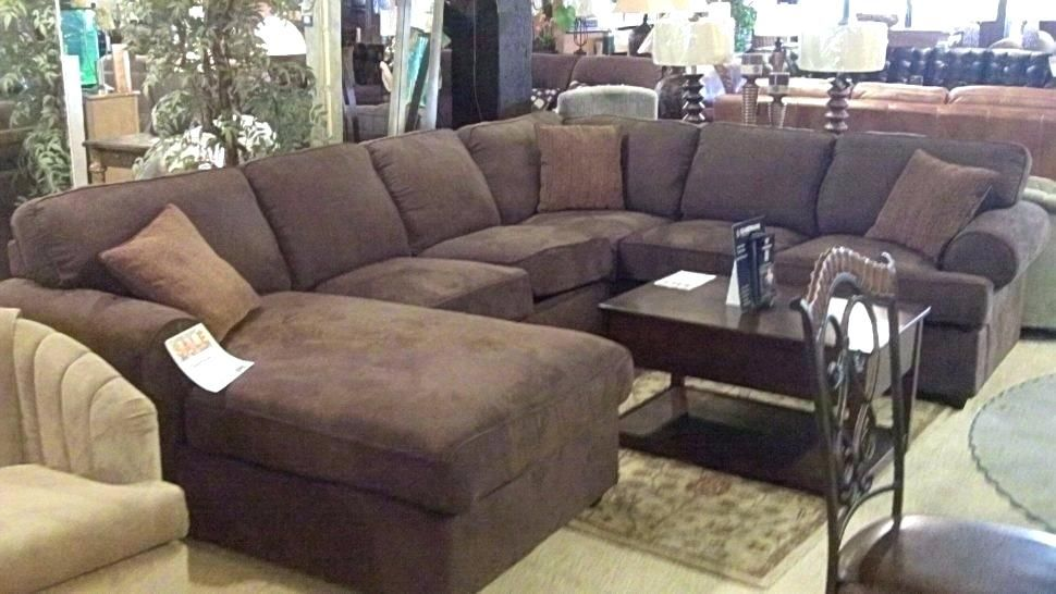 Agreeable large sectional sofas with ottoman Photographs ...