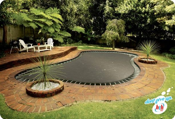 Convert your pool to a trampoline hth ad campaign pool for Trampoline piscine