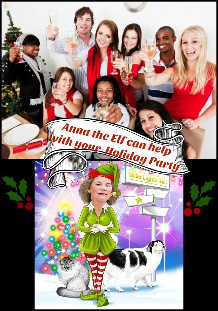 Tired of the same old holiday themes for your office parties.  Hire Miller Lights to do your lighting and our Elf will come up with lots of funny ideas for you. Click on pin to contact us.