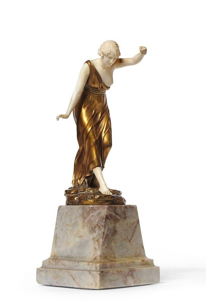 FERDINAND PREISS (1882-1943) RUSSIAN DANCER, CIRCA 1925