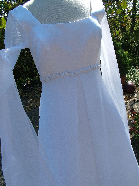 Camelot Wedding dress vintage 90s renaissance bridal gown celtic ...