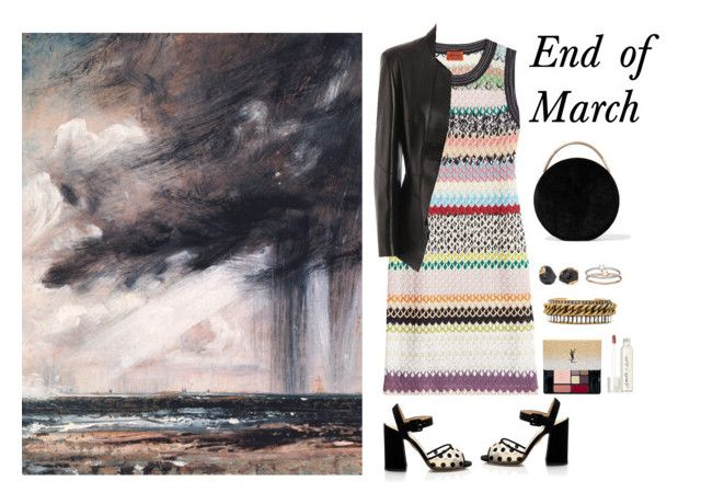 """End of March"" by musicfriend1 on Polyvore featuring Missoni, Alexander McQueen, Eddie Borgo, Dara Ettinger, LC Lauren Conrad, Elizabeth Cole, Yves Saint Laurent and Smith & Cult"