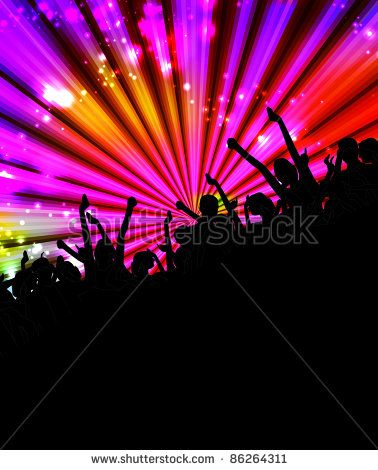 Club Party Illustration Music Event Background Hilgas Musik