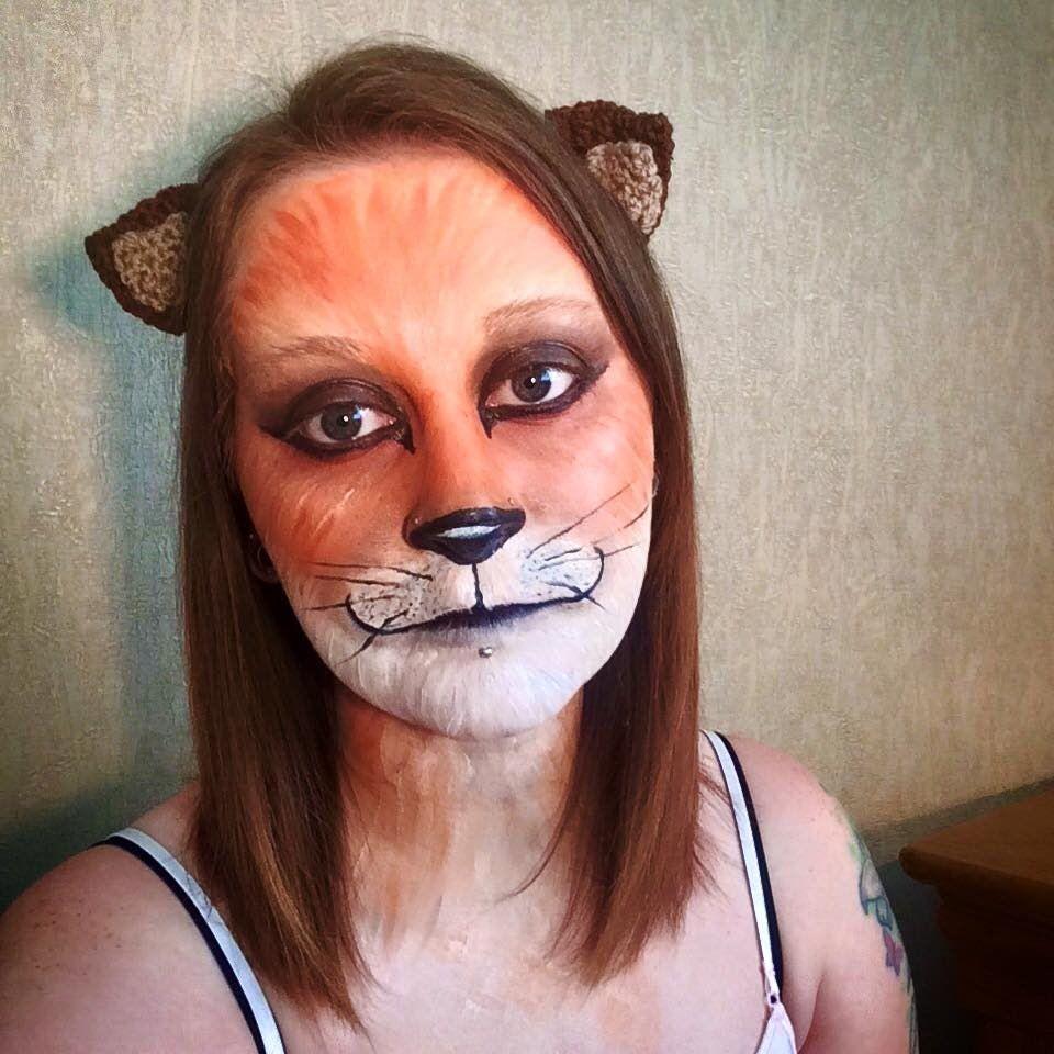 Fox Face Painting Tutorial (con immagini)