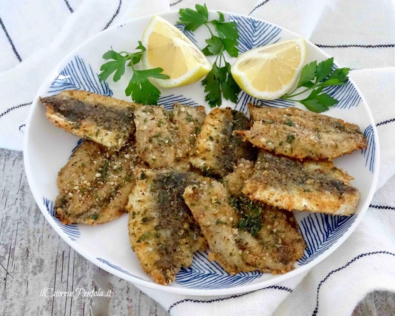Photo of Baked sardines au gratin – Simple recipes Il Cuore in Pe …