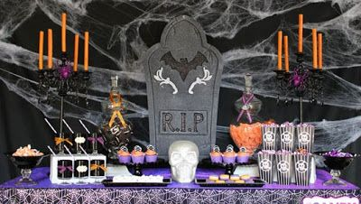 ESPECIAL HALLOWEEN IDEAS PARA DECORAR TU MESA HALLOWEEN DESSERT