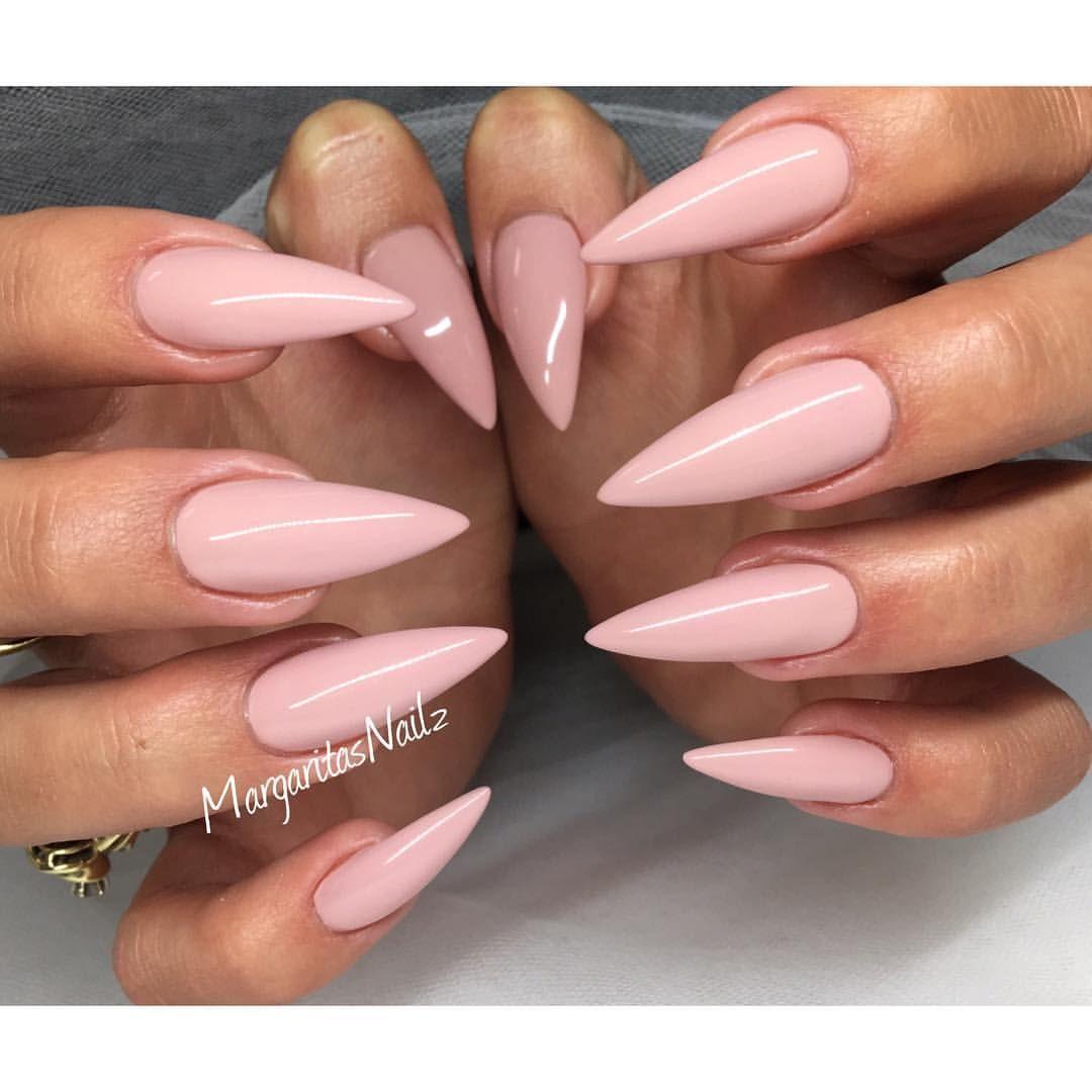 Margaritasnailz On Instagram Acrylic Nails Stiletto Pink Stiletto Nails Pink Nails