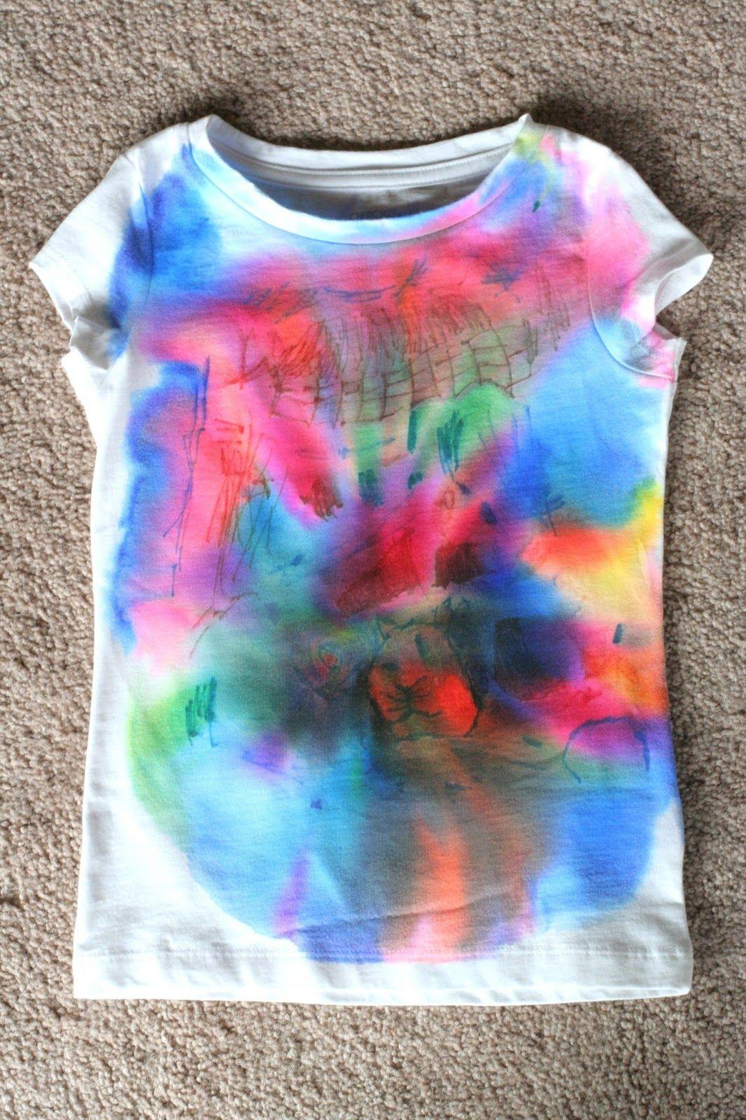 Make your own shirt sharpie tie dye sharpie tie die for Types of tie dye shirts