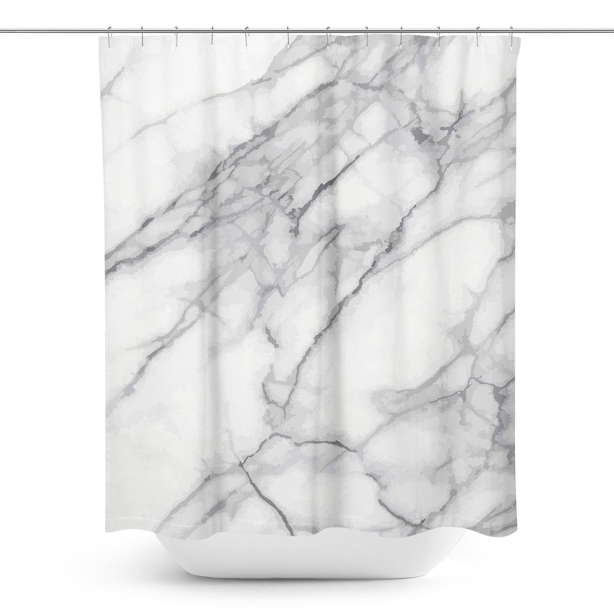 Marble shower curtain marbles apartments and house