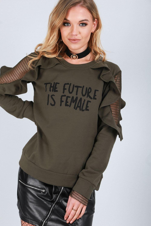 2365bd0c1e89 Womens Oversized Ladies Fleece Tassel Fringe Loose Fit Batwing Sleeve Crop  Top Fleece Tassel Fringe
