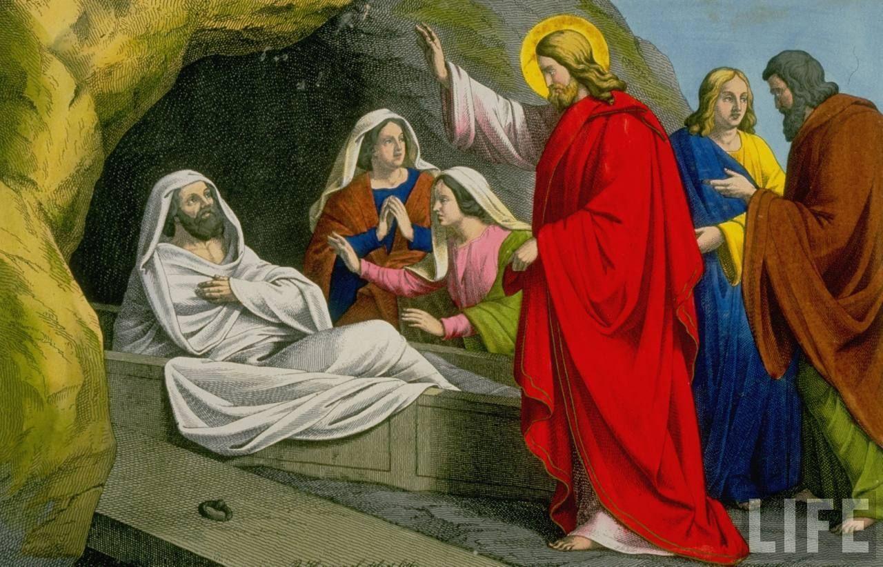 Jesus Raises Lazurus From The Dead John 11 Jesus Stories Jesus Page Turner