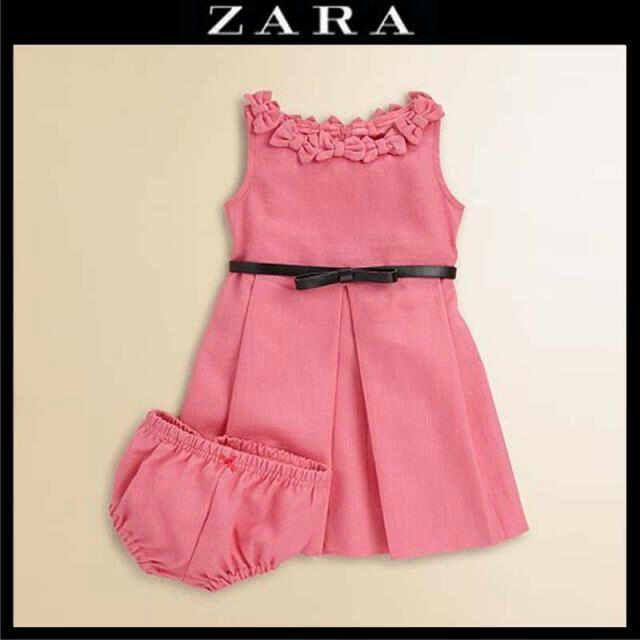 Baby dress by zara | DISFRAZ | Pinterest | Vestidos de niñas ...