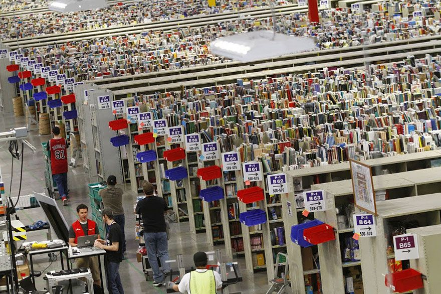 An Inside Look At Chaotic Amazon Warehouses I Love Books