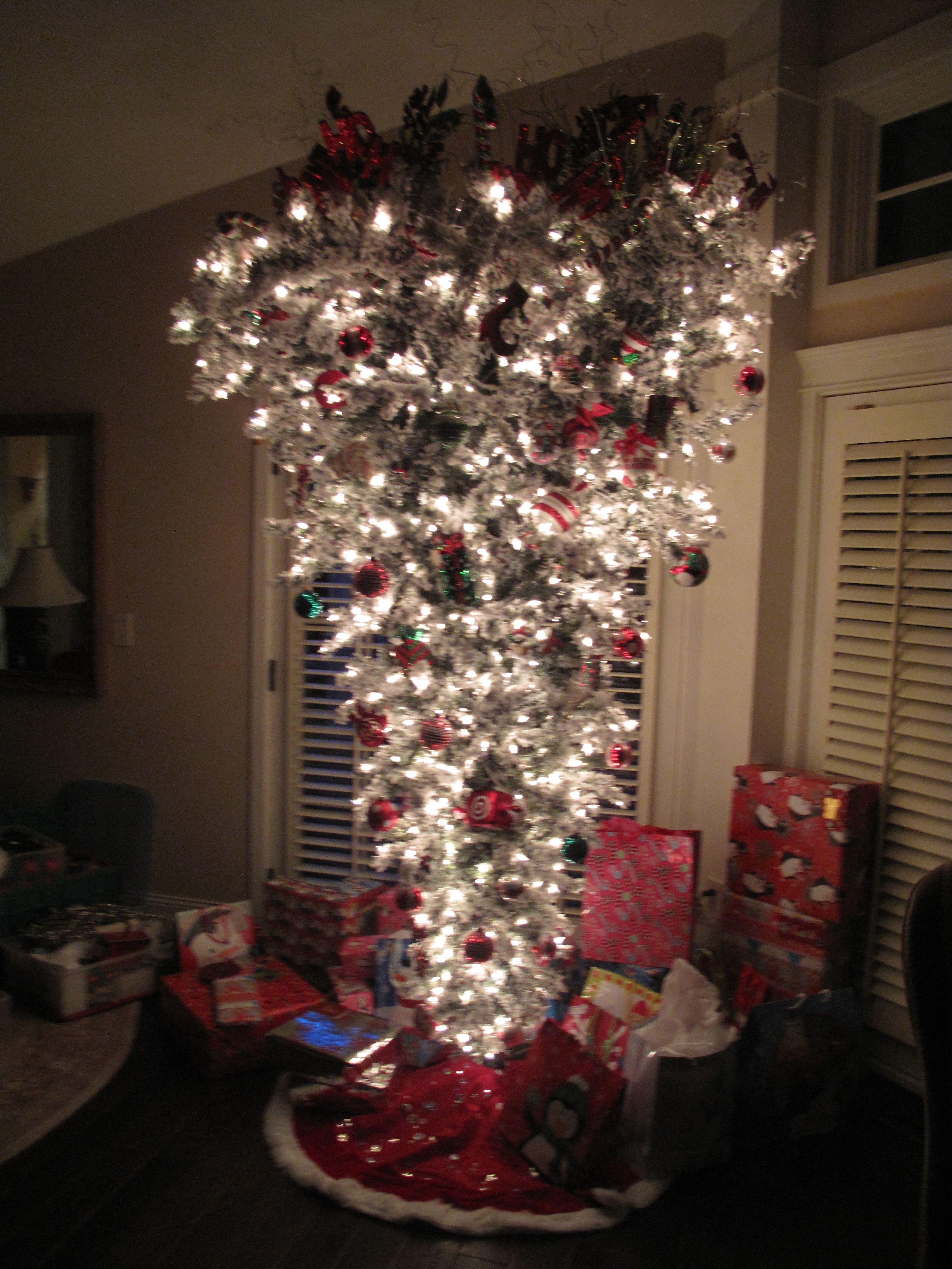 My Upside Down Christmas Tree Creative Christmas Trees Upside Down Christmas Tree Christmas Tree Themes