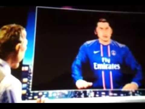 FOOTBALL -  Zlatan à zlatanner Pastore - Les Guignols (Canal plus) - http://lefootball.fr/zlatan-a-zlatanner-pastore-les-guignols-canal-plus/