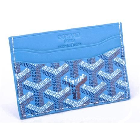 Low Cost Goyard Card Holder 020090 Sky Blue Bag Lady Pinterest - resume holders