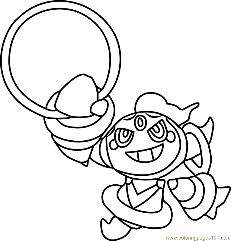 Image result for pokemon coloring pages hoopa | Pokemon and Amy ...