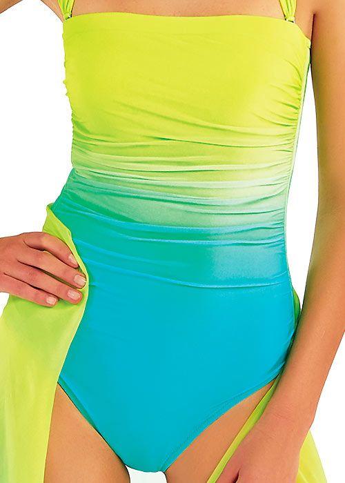 8a8b00957f4fa2 Roidal Brasil Nadia Ombre Bandeau Swimsuit #Sponsored , #AFFILIATE, #Nadia# Brasil