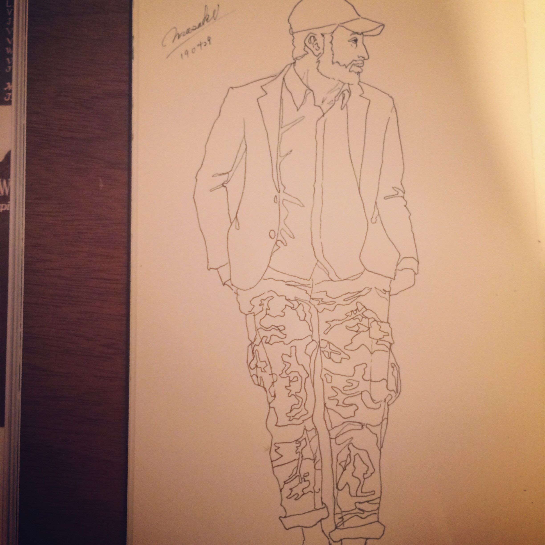 Fashion Sketch #012