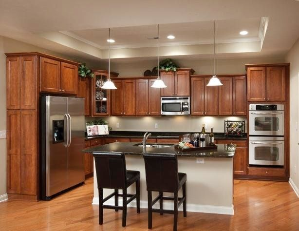 Kitchen Center Island Lighting large kitchens Kitchen lighting