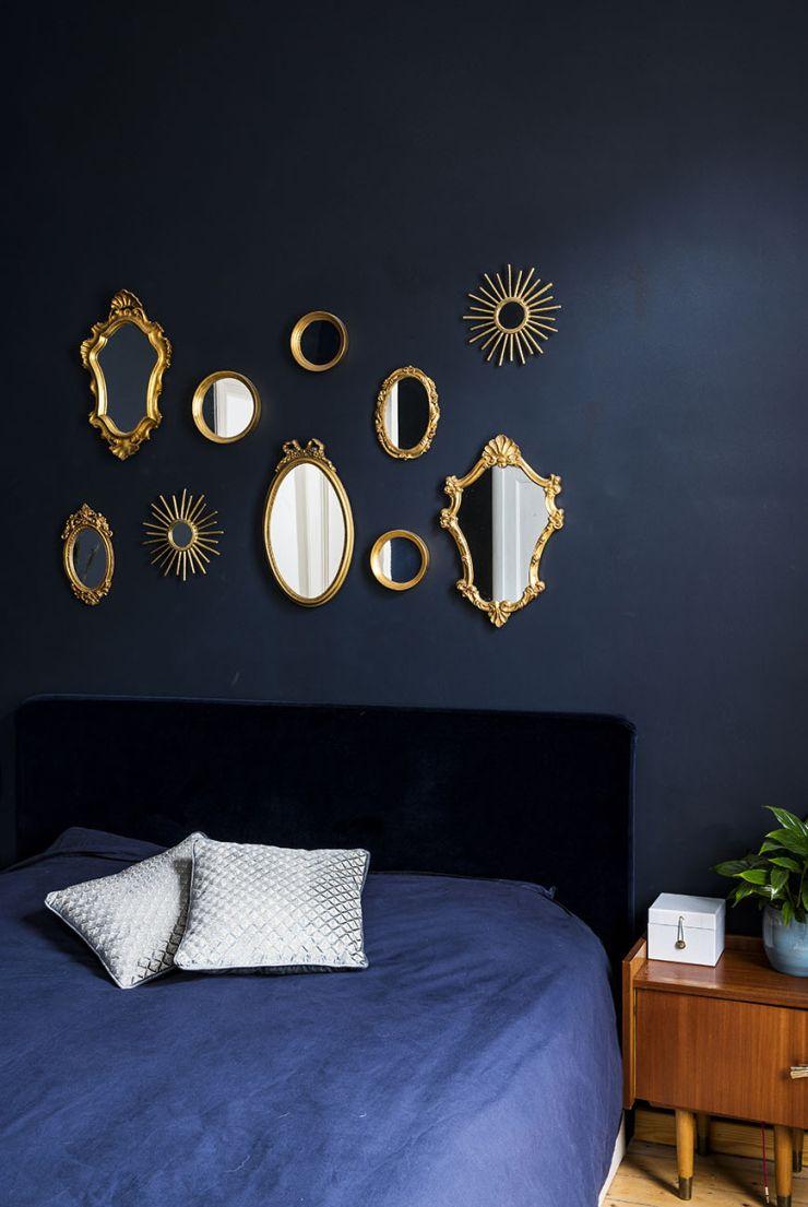 Een blauwe slaapkamer: o zo mooi #slaapkamerideeen