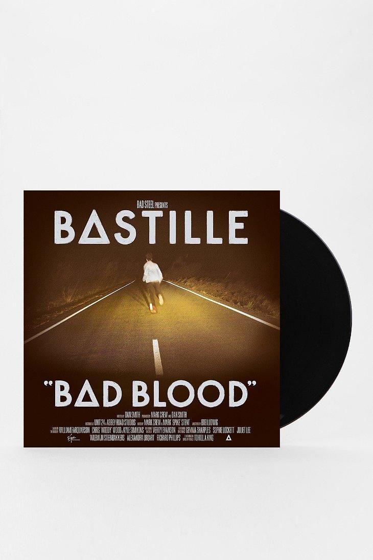 Vinyl Record Storage Shelf Bastille Album Bad Blood Bastille