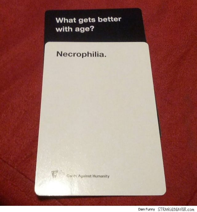 Fun Times Playing Cards Against Humanity