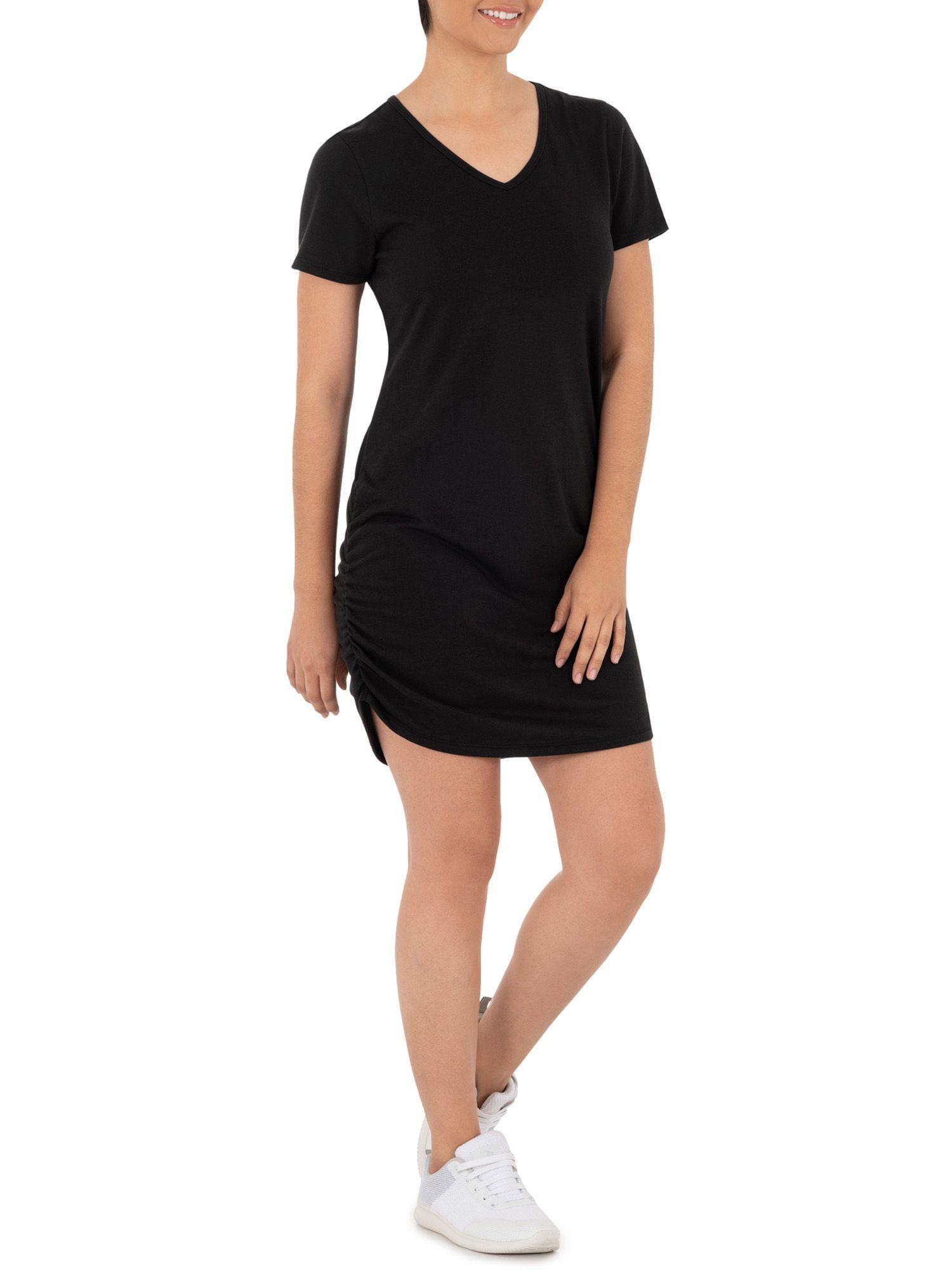Athletic Works Athletic Works Women S Athleisure Short Sleeve T Shirt Dress Walmart Com Athleisure Women Athleisure Shorts T Shirt Dress [ 2000 x 1500 Pixel ]