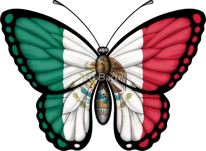 Mexican Flag Butterfly Mexican Flag Tattoos American Flag Tattoo Mexican Heritage Tattoos