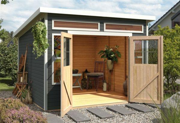 kleines praktisches Gartenhäuschen Gartenhaus