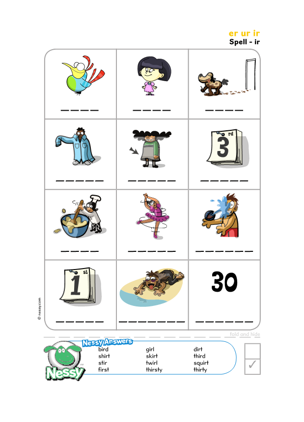 worksheets nessy reading spelling lesson 2 the party is on. Black Bedroom Furniture Sets. Home Design Ideas