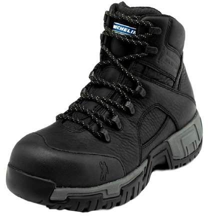 Michelin Work Boots Mens Hydroedge Steel Toe Puncture Black Xhy866