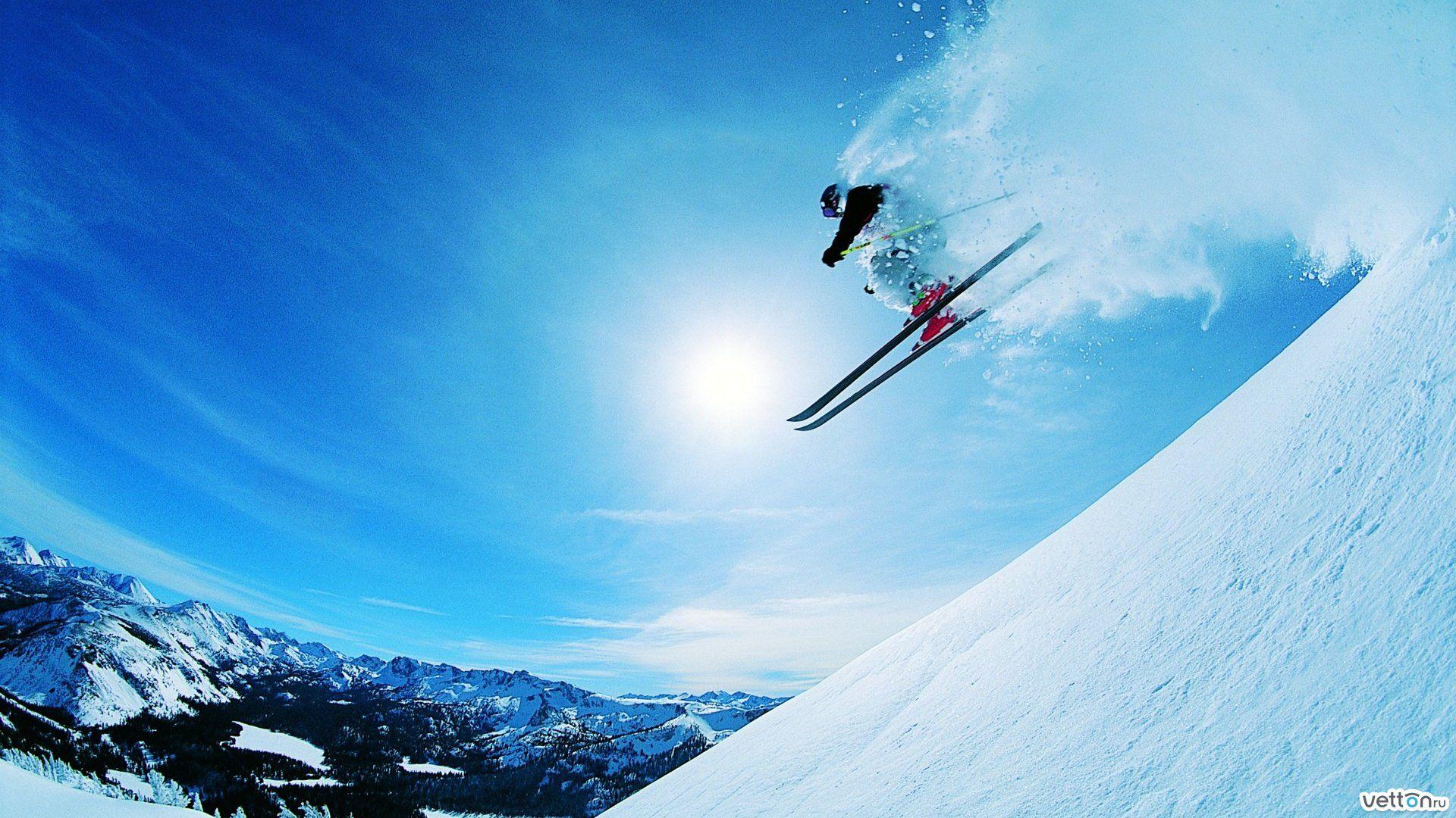 Обои Лыжи. Спорт foto 12